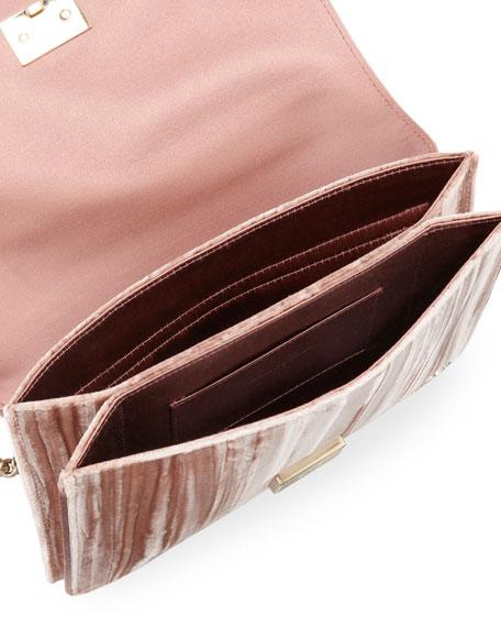 b4f3e33b60 Roger Vivier Club Chain Velvet Tassel Evening Clutch Bag