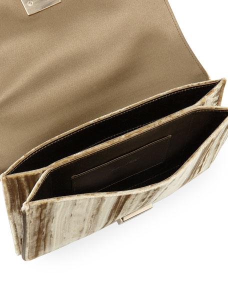 Club Chain Velvet Tassel Evening Clutch Bag
