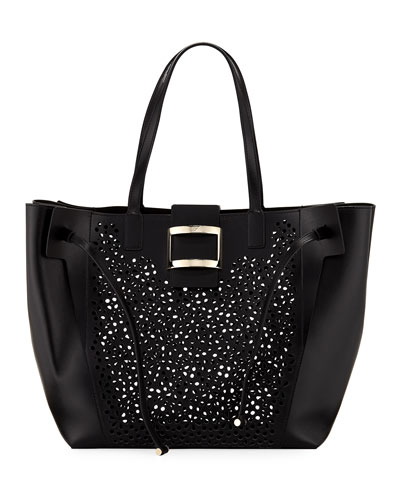 Viv Large Perforated Tote Bag