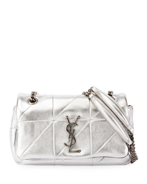 8120d701f3 Saint Laurent Small Jaime Full Flap Shoulder Bag