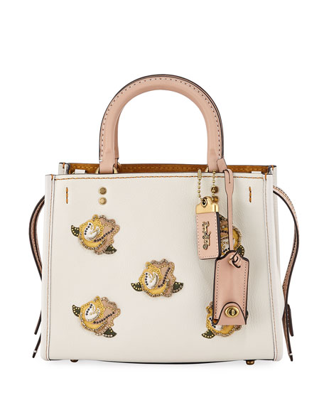 Coach 1941 Rogue 25 Rose Tote Bag