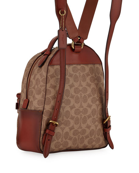 Campus 23 Signature Coated Canvas Backpack