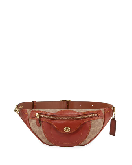 Coach 1941 Campus Signature Coated Canvas Fanny Pack