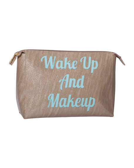 Betty Wake Up and Makeup Vinyl Bag