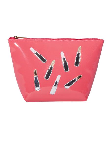 Avery Scattered Lipsticks Vinyl Bag