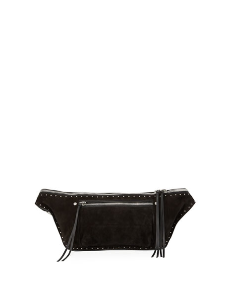 Rag & Bone Elliot Studded Suede Fanny Pack
