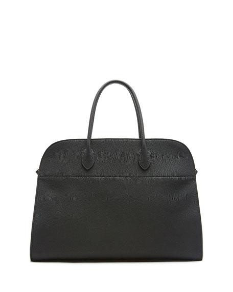 Margaux 17 Calfskin Top Handle Bag