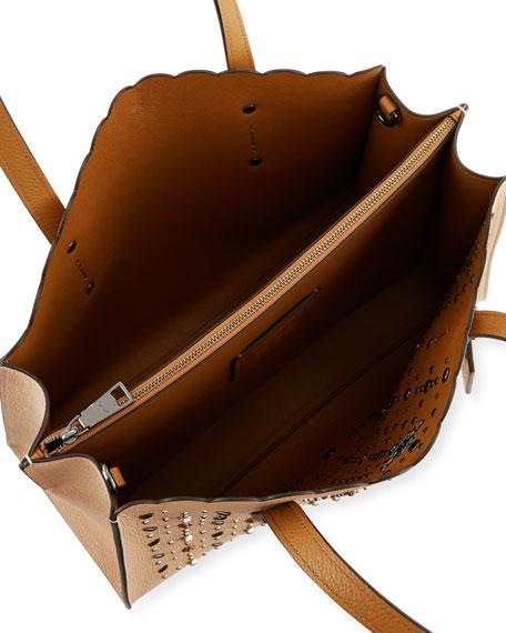 Charlie Prairie Rivets Carryall Tote Bag