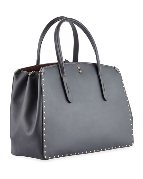 Cooper Border Rivets Carryall Tote Bag