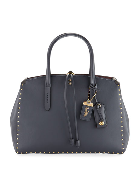 Coach 1941 Cooper Border Rivets Carryall Tote Bag