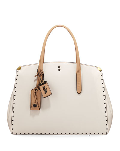 Cooper Border Rivets Colorblock Carryall Tote Bag