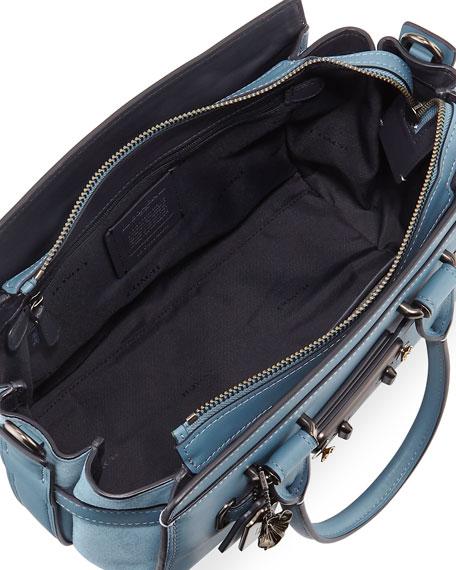 Swagger 27 Mixed Tea Rose Satchel Bag