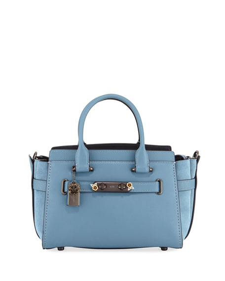 Coach 1941 Swagger 27 Mixed Tea Rose Satchel