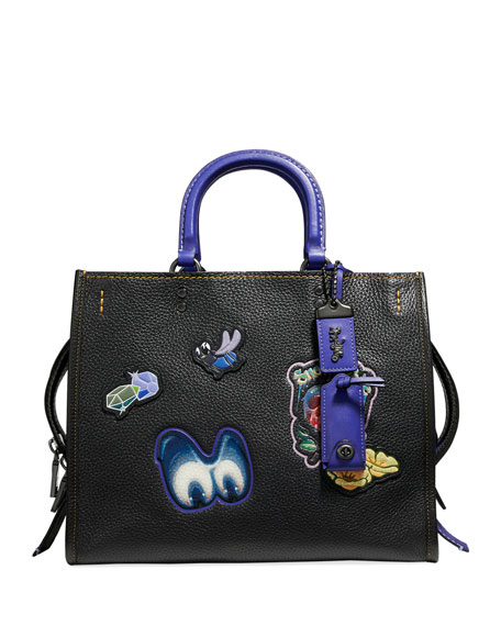 DISNEY X COACH Snow White Rogue Patches Tote Bag