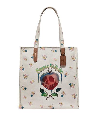 DISNEY X COACH Poison Apple Tote Bag