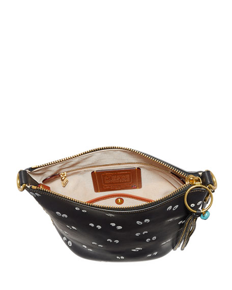 DISNEY X COACH Spooky Eyes Bucket Bag