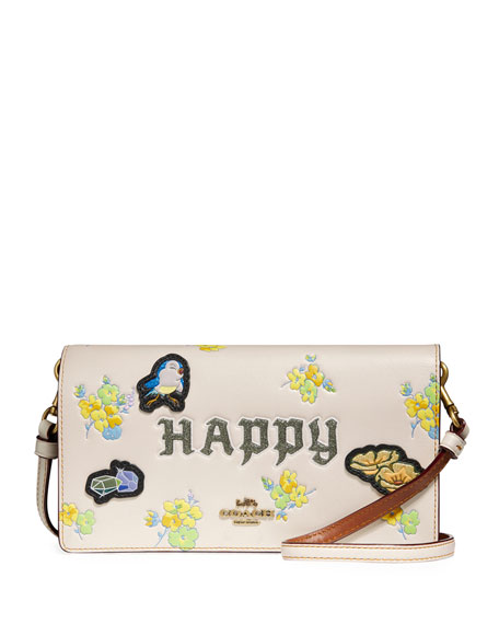 Coach 1941 DISNEY X COACH Happy Fold-Over Crossbody