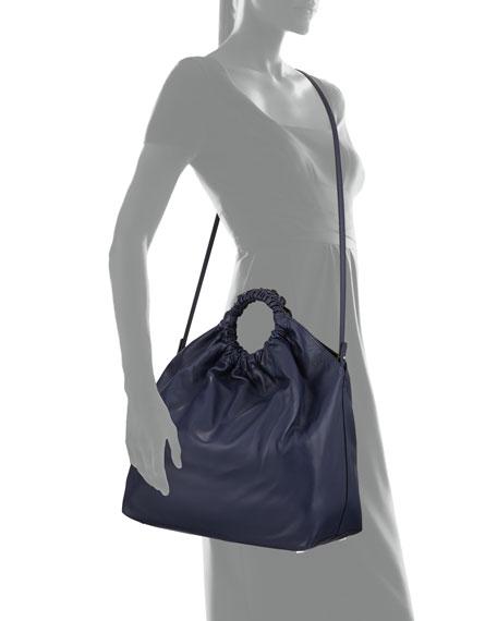 Double Circle XL Napa Shoulder Bag