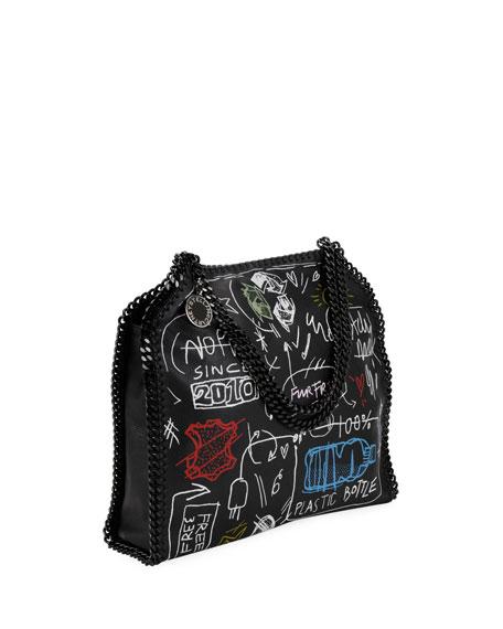 Small Graffiti Falabella Tote Bag