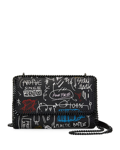 Graffiti Chain Falabella Shoulder Bag