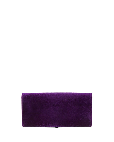 Dionysus Velvet Clutch Bag