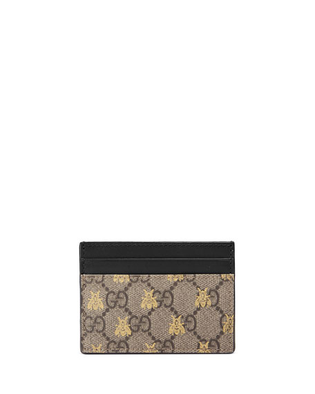 Gucci Linea A GG Supreme Card Case