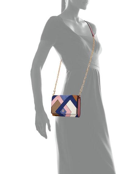 Robinson Pieced Chain Wallet/ Shoulder Bag