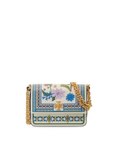 Kira Floral Mini Shoulder Bag