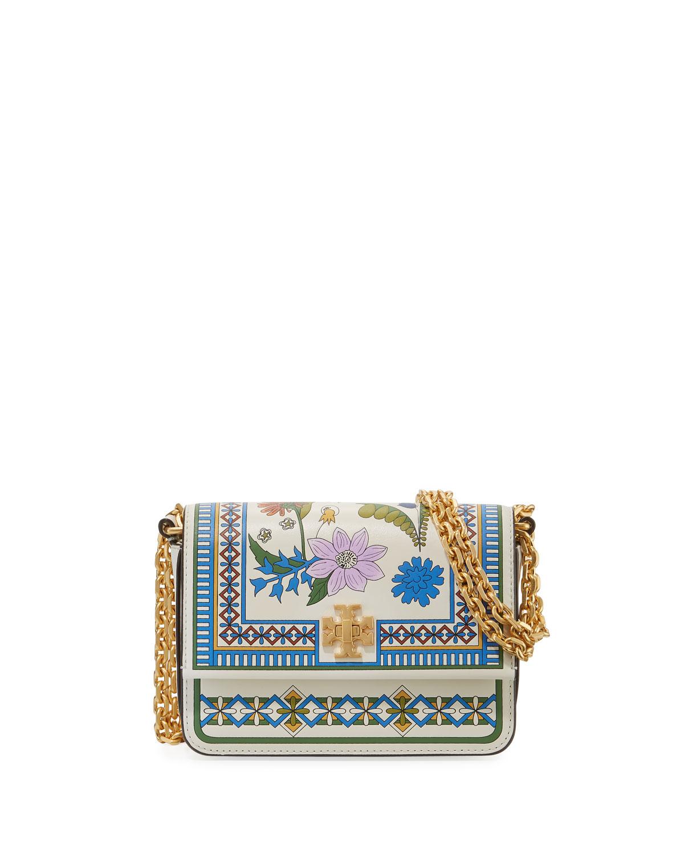 Tory Burch Kira Floral Mini Shoulder Bag Neiman Marcus