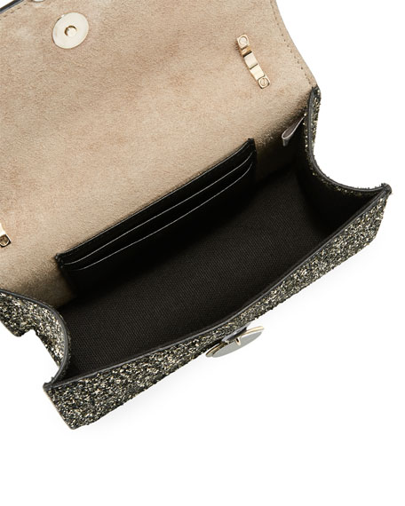 Finley Star Coarse Glitter Crossbody Bag
