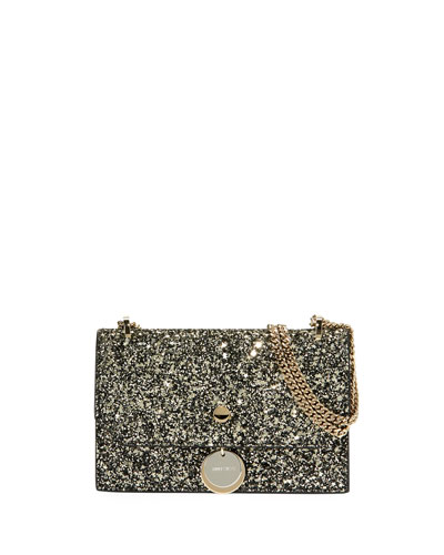 Finley Star Coarse Glitter Crossbody Bag