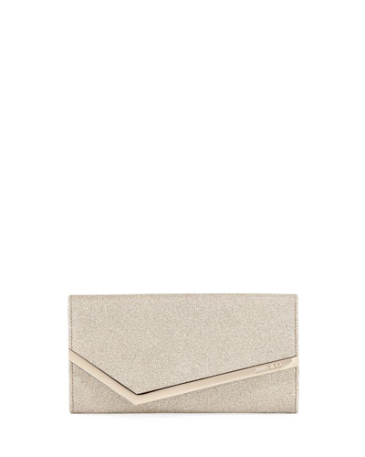 Emmie Dusty Glitter Clutch Bag