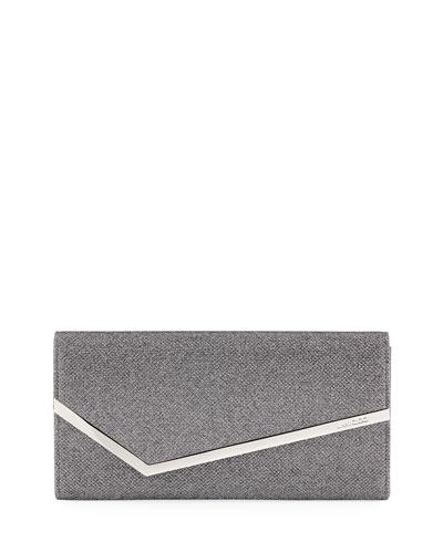 Erica Metallic Glitter Clutch Bag
