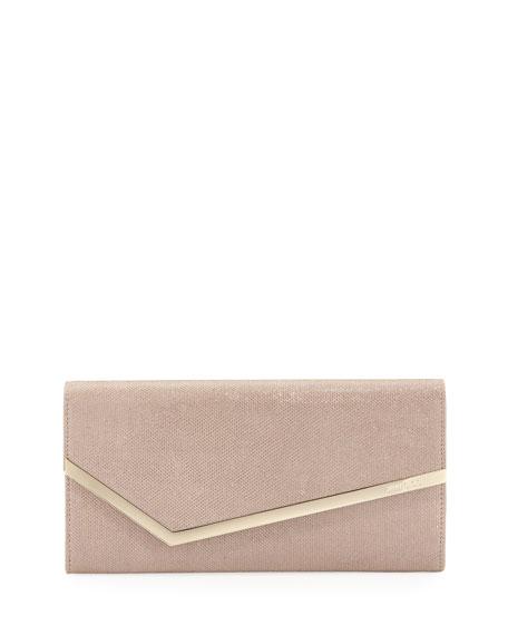 Erica Glitter Mesh Clutch Bag