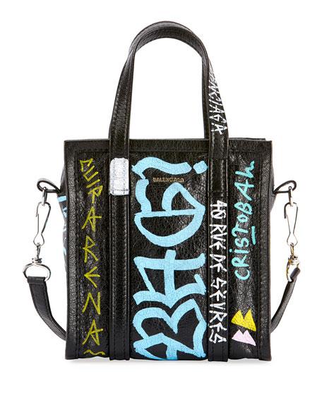 Bazar XXS Graffiti Lambskin Tote Bag