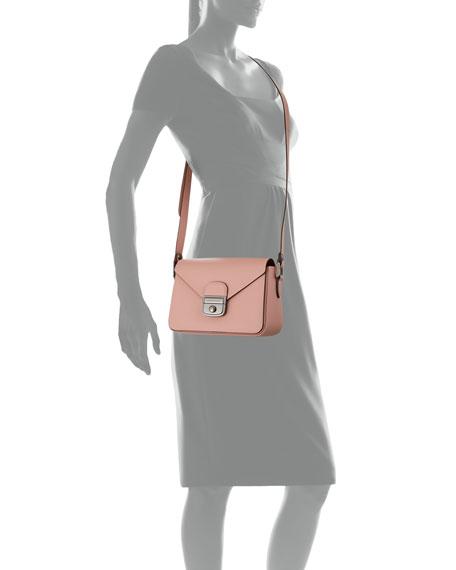 Le Pliage Heritage Leather Crossbody Bag