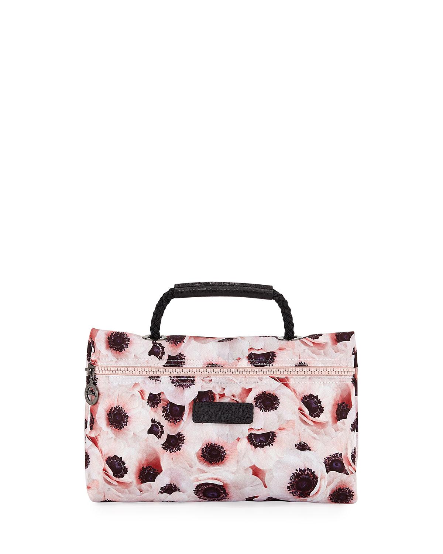 0145353121ad Longchamp Le Pliage Anemone Cosmetics Bag