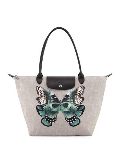 Le Pliage Butterfly Large Shoulder Tote Bag
