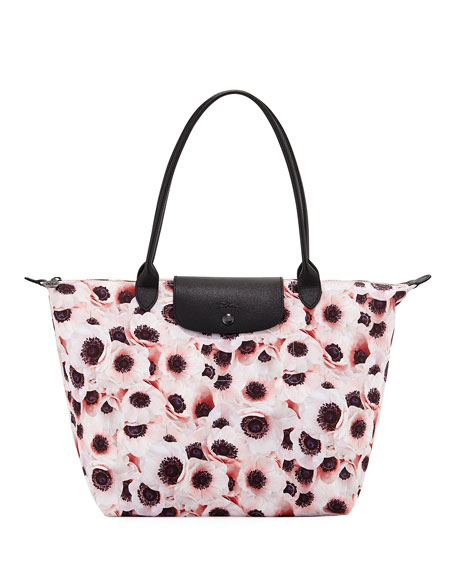 Longchamp Le Pliage Anemone Large Shoulder Tote Bag