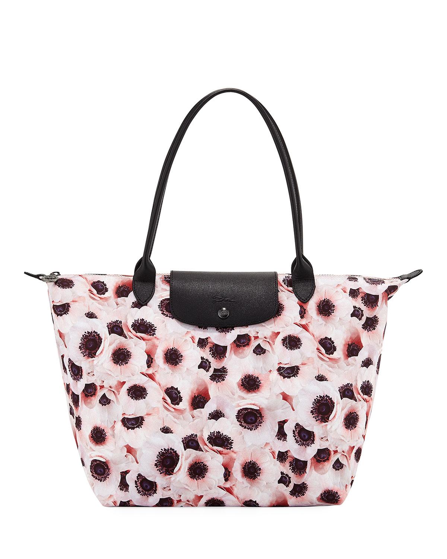 a0fb1fcc03e6 Longchamp Le Pliage Anemone Large Shoulder Tote Bag