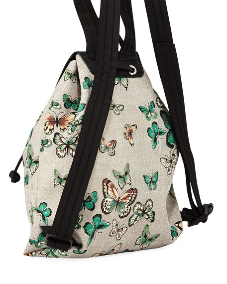 Le Pliage Nylon Butterfly Backpack