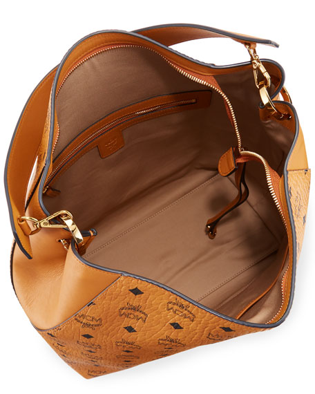Klara Large Leather Hobo Bag