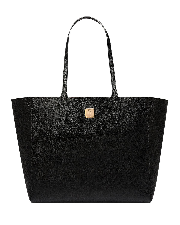 6fd8e10257 MCM Wandel Medium Leather Shopper Tote Bag