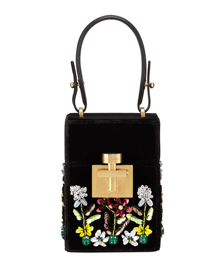 Oscar de la Renta Albi Mini Box Top-Handle
