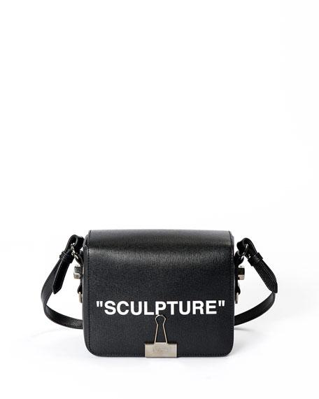"""Sculpture"" Flap Shoulder Bag"