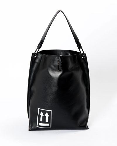 Soft Arrow Satchel Bag