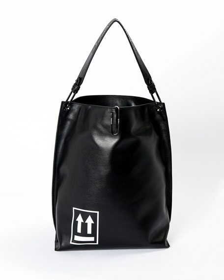 Soft Arrow Satchel Bag
