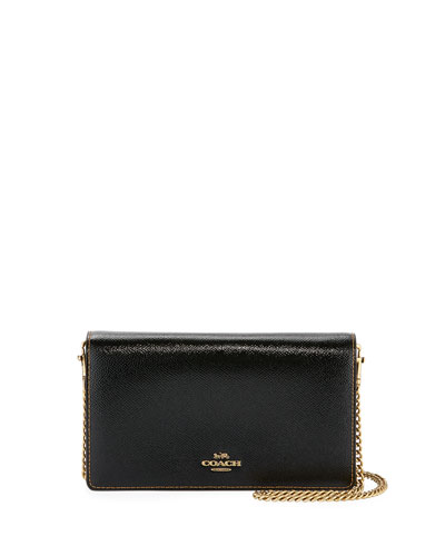 Patent Flap Chain Clutch Bag
