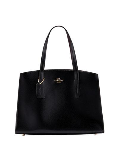 Charlie Crossgrain Carryall Top Handle Bag