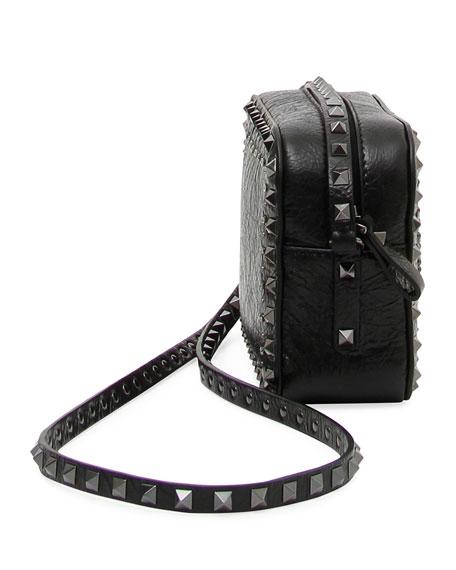 Rockstud Heart Crossbody Bag